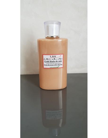 Gold huile de soie à l'ocre pailleté